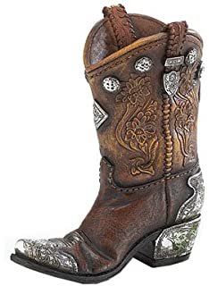 Amazon.com: Gifts & Decor Western Theme Garden Decor Cowboy Boot ...
