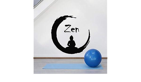Zen Circle Adhesivos de Pared para Gimnasio Budismo Meditación ...
