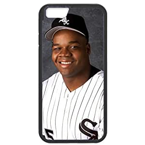 MLB iPhone6 Black Chicago White Sox cell phone cases&Gift Holiday&Christmas Gifts NBGH6C9124866