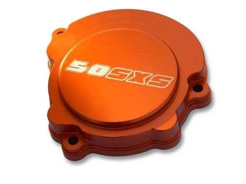KTM SXS IGNITION COVER BILLET CNC ORANGE 50 SX SXS MINI 2009-12 - Billet Ktm