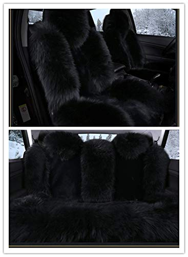 MuYiHan 1 Pc Universal Faux Fur Car Seat Covers Winter Chair Warm Auto New Plush
