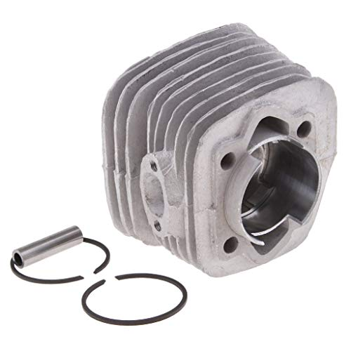D DOLITY 47mm Cylinder Head Piston Set For 80cc Gas Motorized Bicycle Bike Engine
