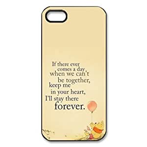 Mystic Zone Custom Winnie the Pooh Cover Case for iPhone 4/4S TPU Back Cover Fits Case KEK2054