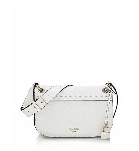 Descuento De Compra Súper Especiales Guess Devyn Shoulder Bag White Nueva Marca Barata Unisex Ebay Para La Venta Venta De Moda XS76suhAA