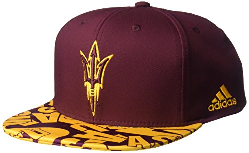 NCAA Arizona State Sun Devils Men's Layered Snapback, Maroon, One Size