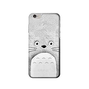 """My Neighbor Totoro Grey Minimalist 4.7 inches Iphone 6 Case,fashion design image custom iPhone 6 4.7 inches case,durable iphone 6 hard 3D case cover for iphone 6 4.7"""", iPhone 6 Full Wrap Case"""