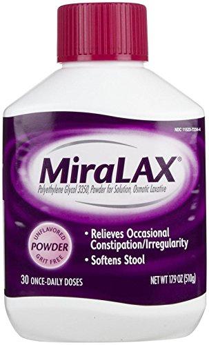 Miralax Laxative Powder Doses 17 9 product image