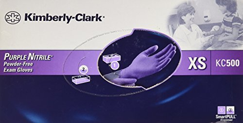 Halyard Health formerly Kimberly Clark Purple Nitrile Glove, X-Small - 100/BX