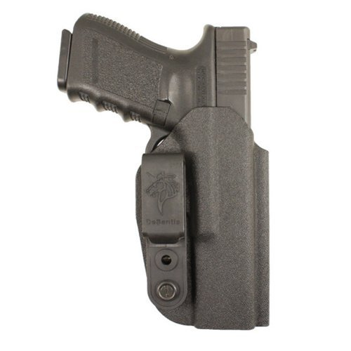 Desantis Slim-Tuk Inside Fits S&W M&P Shield Ambidextrous Kydex Pants Holster, Black
