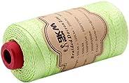 Braided Dacron String Kite Line 50lb~200lb Low Stretch Polyester String 1mm~2mm Mason Thread Heavy Duty Rope O