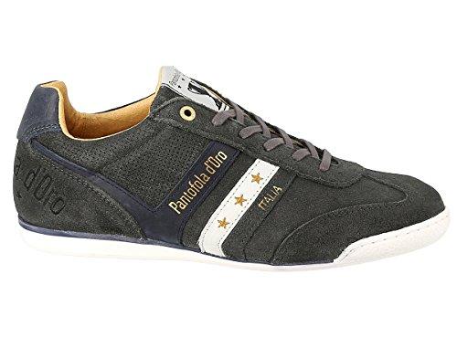 Pantofola d'Oro Vasto Suede Low, Sneaker Uomo Marrone