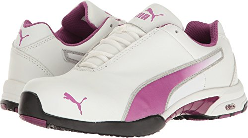 (PUMA Safety Women's Velocity White SD White 9 B US B (M))