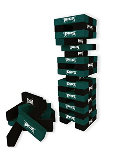 Wild Sports NFL Philadelphia Eagles Table Top Stackers Game