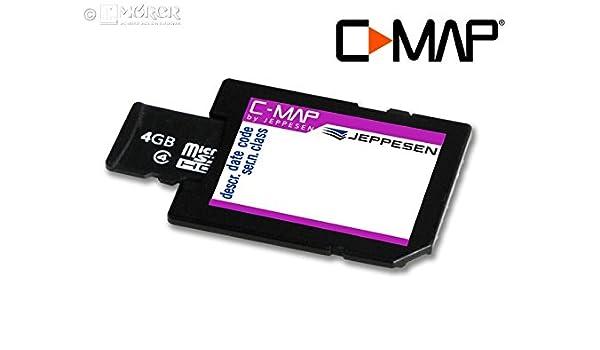 C-MAP MAX de N Local - Módulo de Tarjeta SD/mSD de Tarjeta: Amazon ...
