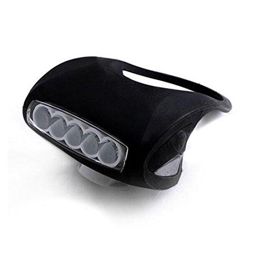 7 led silicone bicycle light - 4
