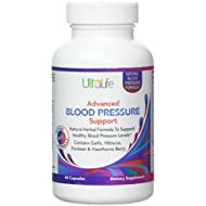 BEST HIGH BLOOD PRESSURE PILLS to Lower BP Naturally - Advanced Hypertension Supplement w/Potent Vitamins & Herbs - Garlic, Hawthorn Berry & Forskolin for Stress Reduction & Heart Health