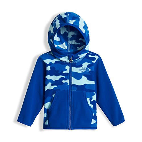 d4ad451f3 Galleon - The North Face Infant Glacier Full Zip Hoodie - Sky Blue Classic  Camo Print - 24M (Past Season)