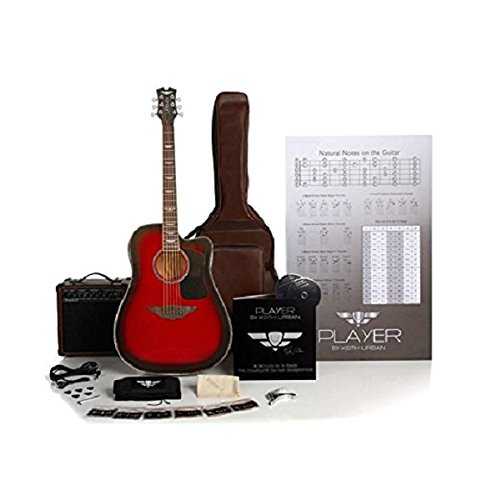 Keith Urban 50-piece Deluxe PLAYER Acoustic-Electric Guitar Package - ()
