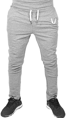 Cómodo Cintura Elástica Casual Pantalones Largos Cargo para Hombre ...