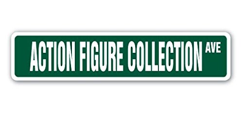 Plate Character Collector (ACTION FIGURE COLLECTION Street Sign Collector Box Set Character Figurine - Sticker Graphic - Auto, Wall, Laptop, Cell Sticker)