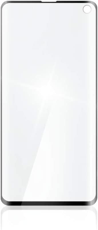 Hama 3d Full Screen Protective Glass For Samsung Galaxy S10 Toughened Glass Black Transparent Elektronik