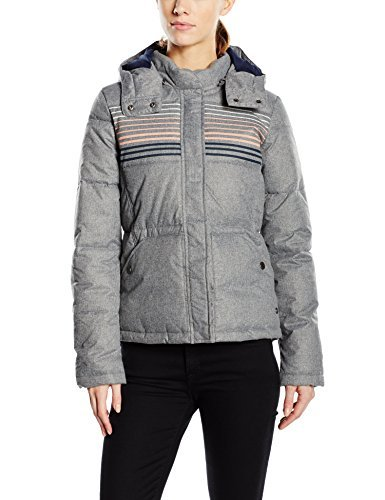 Roxy Freedom Womens Jacket grey Charcoal Heather Size:FR : 38 (Taille Fabricant : M) by Roxy by Roxy