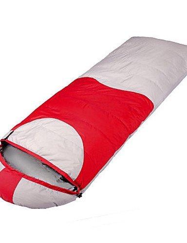 Schlafsack Rechteckiger Schlafsack Einzelbett(150 x 200 cm) -10? Enten Qualitätsdaune 1500g 215X80 Reisen warm halten