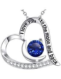 Birthday Gift for Women September Birthstone Blue...