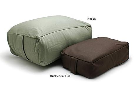 Amazon.com : Chocolate Buckwheat Hull Filled Rectangular ...
