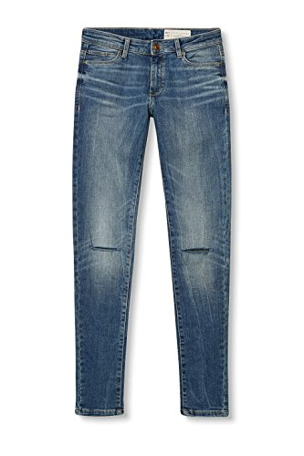 017ee1b022 Wash Esprit Jeans Mujer Azul blue Medium 1dO7q8w