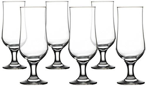 Concord Street Wine Glasses, Set of 6, 13 oz, Clear (Glass Bowls Concord)