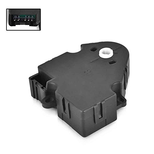 HVAC Heater Temperature Blend Air Door Actuator For Buick Chevy GMC Cadillac Pontiac Replaces 1572971, 16163982, 52402588, 52402598, 52402612, 89018365, 604-106 ()