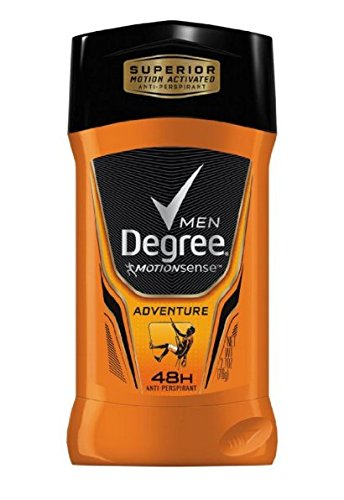 Degree Men Invisible Antiperspirant Adventure, 2.7 Ounce Pac