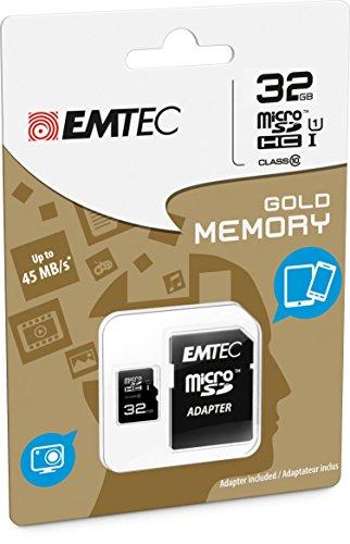 EMTEC Class MicroSDHC Memory Adapter