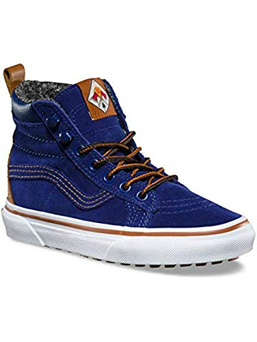 Vans Sk8 Hi MTE Kids Size 10.5 Blue Depths Mountain Edition Shoes