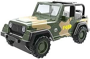لعبة سيارة الجيش للطرق الوعرة، مركبات السحب للخلف للأطفال، العاب هدايا الاطفال