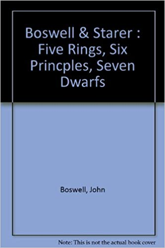 Five Rings, Six Crises, Seven Dwarfs, and 38 Ways To Win An
