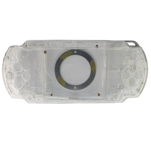 (Crystal Front and Back Faceplate Cover Case for PSP 1000)