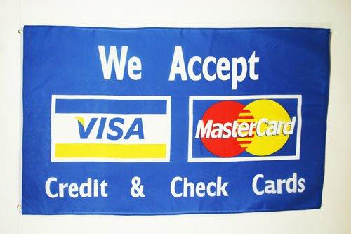 AZ FLAG Bandera Visa MasterCard 150x90cm - Bandera Tarjeta ...