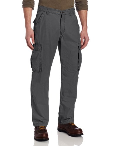 Carhartt Men's Rugged Cargo Pant Relaxed Fit,Gravel,36 x 32