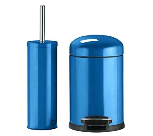 Faience Algerie Salle De Bain Bleu : Awesome couleur match de salle bain poubelle et brosse