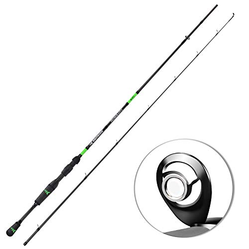 (KastKing Resolute Fishing Rods, Cast 6ft -M Power-Fast-2pcs)