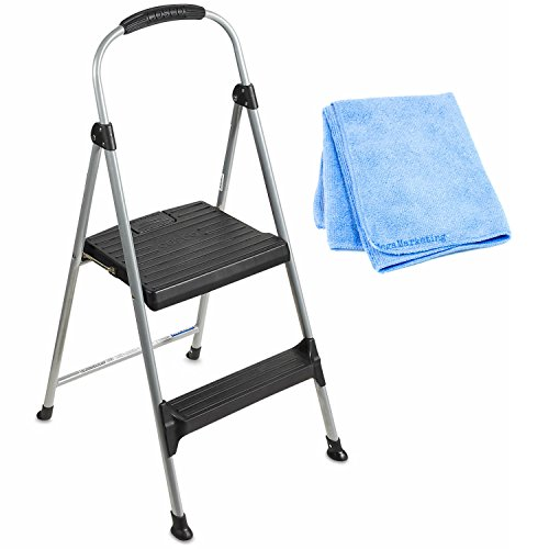 Cosco 1step Metal Folding Step Stool Amazoncom Cosco Steel