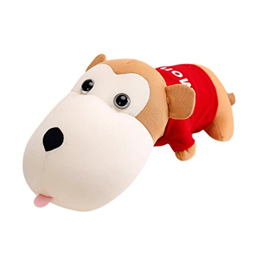 Livoty Air Purifying Bag for Cars, Closets, Bathrooms ,Funny Monkey Doll Car Air Purifier Decor Toy ,Funny Monkey Doll Car Decor Purify Air Bamboo Charcoal Bag Adsorb Odor Deodorant (red)
