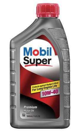 Price comparison product image Mobil Super 10W-40,  gals Engine Oil,  1 qt