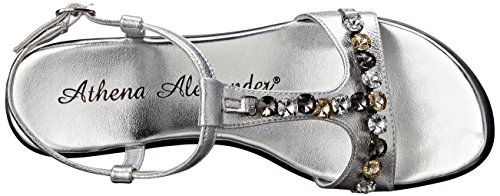 Wedge Athena Silver Sambuca Athena Alexander Womens Alexander Sandal q6wxWX8B5