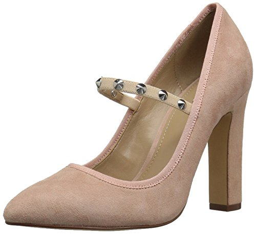 The Fix Women's Shay Studded Mary Jane Dress Pump, Petal Blush, 10 M US by The Fix