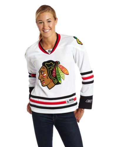 NHL Women's Chicago Blackhawks Premier Jersey, White, Small