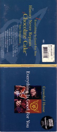 Crowded Tim House Finn (Everything Is Good for You (Cd Single w/ Rare Live Tracks))
