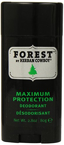 Herban Cowboy Forêt Déodorant Protection maximale, 2,8 once